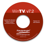 WinTV v7.2 CD-ROM
