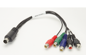 DIN style (round) Component A/V cable
