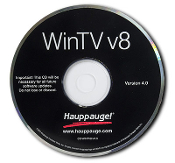 WinTV v8 application with Extend